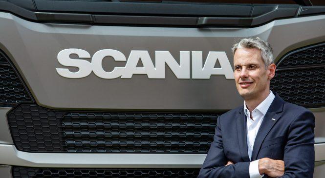 Scania anuncia novo responsável pelas operações comerciais no Brasil