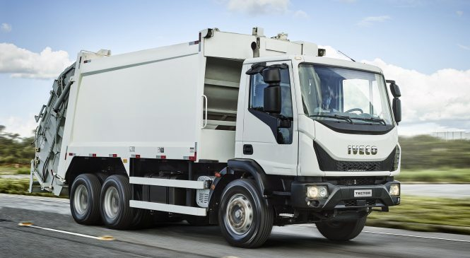 IVECO aposta no mercado de coleta de resíduos e lança o Tector Auto-Shift Coletor