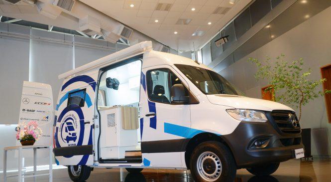 Mercedes-Benz Vans embarca no projeto de mobilidade humana