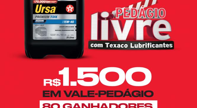 """Promoção """"Pedágio Livre"""" da Texaco termina dia 30 de setembro"""