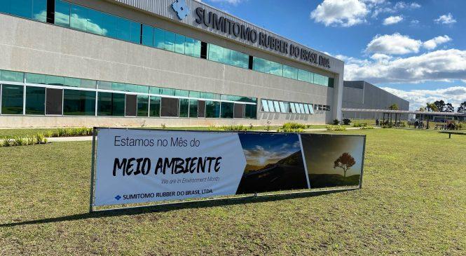 Sumitomo Rubber do Brasil segue política de sustentabilidade e já apresenta resultados