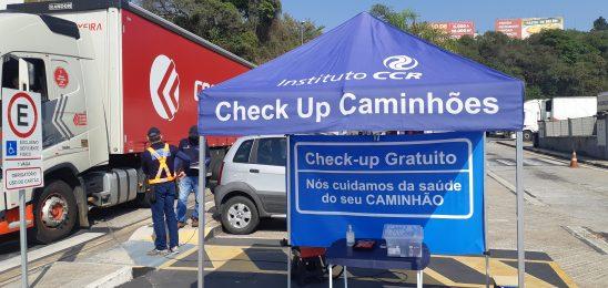 CCR ViaOeste promove Parada do Desabafo e check-up de caminhões